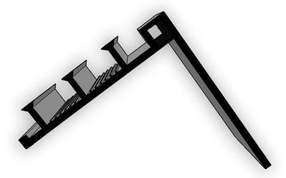 Фото угловая гидрошпонка